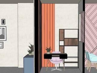 eton college office by tanushree Agarwal Designs