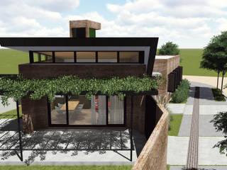 Garajes de estilo rústico de ARBOL Arquitectos Rústico