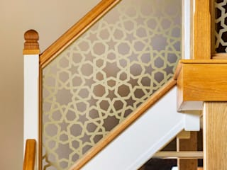 Laser cut balustrade – Private client Staircase Renovation Stairs