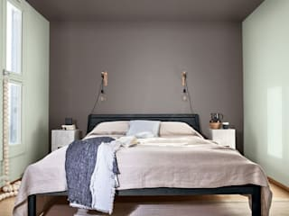 Dulux Colour Of The Year 2020 - Tranquil Dawn Dulux UK Moderne Schlafzimmer Braun
