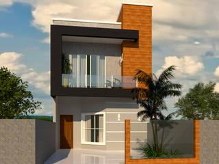 Sobrado para Cascavel-PR por Grata Arquitetura Moderno