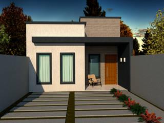 Casa Térrea para Cascavel-PR por Grata Arquitetura
