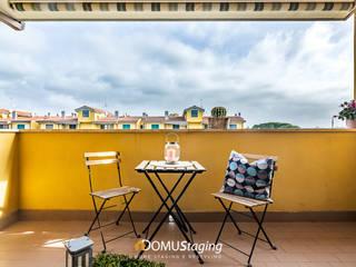 home staging appartamento non abitato di 𝗗𝗢𝗠𝗨𝗦𝘁𝗮𝗴𝗶𝗻𝗴 𝑑𝑖 𝑀𝑎𝑟𝑧𝑖𝑎 𝑀𝑜𝑠𝑐𝑎𝑟𝑑𝑖 Moderno