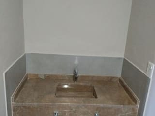 ECOS INGENIERIA Modern style bathrooms Marble Amber/Gold