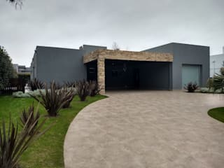 ECOS INGENIERIA Single family home Grey