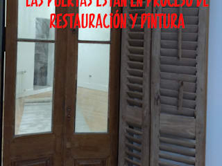 ECOS INGENIERIA Wooden doors Wood Wood effect
