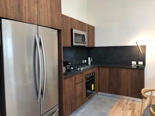 MOKALI Carpintería Residencial KitchenStorage Kayu Brown