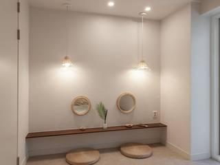 전주인테리어 모던하면서 동양적인 상가주택 인테리어 아시아스타일 침실 by 디자인투플라이 한옥