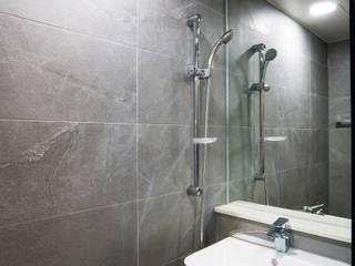 논현동 모던인테리어 모던스타일 욕실 by 디자인모리 모던