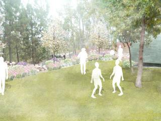 Casa do Bosque Jardins minimalistas por RAQUEL FRIAS - ARQUITECTURA PAISAGISTA Minimalista