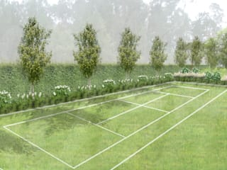 Jardim HPA Jardins minimalistas por RAQUEL FRIAS - ARQUITECTURA PAISAGISTA Minimalista