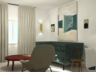 DZ House Salas de estar modernas por Damn Design Atelier Moderno