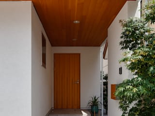 白と米松の家 株式会社山岡建築研究所 一戸建て住宅 無垢材 木目調
