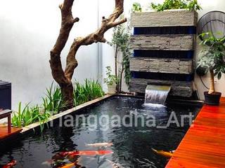 Tukang Taman Surabaya - Tianggadha-art Swimming pond Reinforced concrete Multicolored