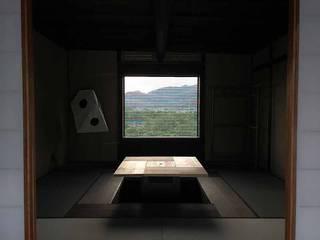 簾スクリーン-2 経木すだれ kyogisudare №6: 井上スダレ株式会社が手掛けたアジア人です。,和風