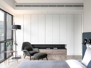 Scandinavian walls & floors by 耀昀創意設計有限公司/Alfonso Ideas Scandinavian
