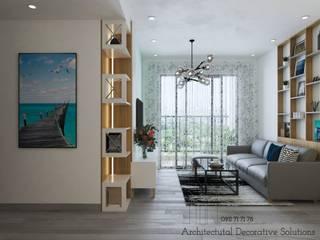 Thiết Kế Nội Thất Căn Hộ Sunrise Riverside 2 Phòng Ngủ bởi Deco Việt Hiện đại