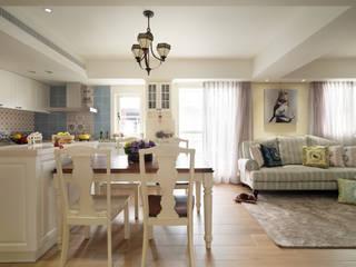 清甜歐式鄉村宅 根據 陶璽空間設計