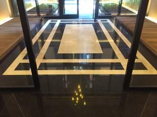 MERMER ZEMİN Modern Koridor, Hol & Merdivenler MAKRO STONE Modern