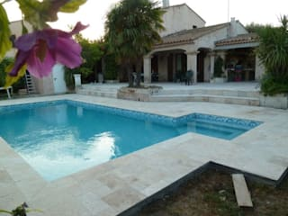 Vente Pierre Naturelle Modern pool