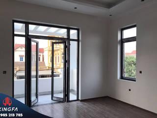 Lắp Đặt Cửa Nhôm XINGFA Tại Yên Dũng Bắc Giang Cửa sổ & cửa ra vào phong cách châu Á bởi Công Ty Cửa Nhôm Xingfa Thủ Đô Châu Á