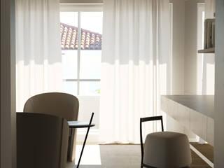 Villa Franciacorta Camera da letto moderna di ALMA Architettura   Mario Pan   Alessandro Pezzotti Moderno