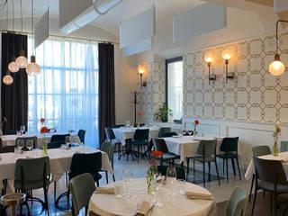 Ristorante Malaspina Gastronomia in stile moderno di Federica Rossi Interior Designer Moderno