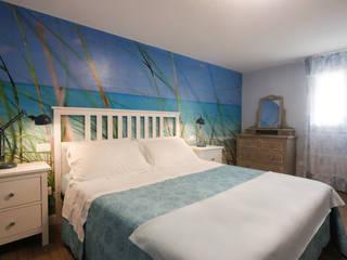 Arch. Sara Pizzo - Studio 1881 Dormitorios pequeños Azul