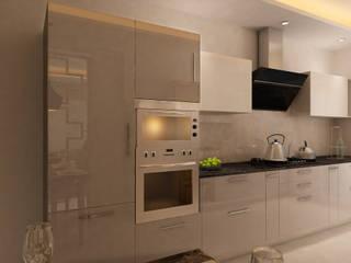 HC Designs Muebles de cocinas Contrachapado Beige