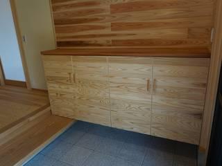 家具: オダ工務店株式会社が手掛けたアジア人です。,和風