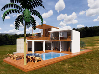 ROQA.7 ARQUITECTURA Y PAISAJE Rustic style house