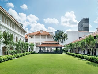 The Return of the iconic Raffles Hotel Singapore - Immerse in its beautiful and unique historic charm Classic hotels by Architecture by Aedas Classic