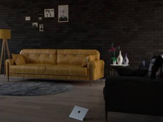Salon için 3D modelleme, Görselleştirme ve mobilya tasarımı işi RNart mimarlık Kırsal/Country