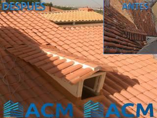Rehabilitación de fachada y cubierta en Madrid Rehabilitaciones Integrales ACM, S.L.