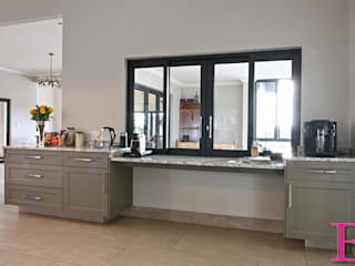 Olive Green Shaker style Kitchen by Ergo Designer Kitchens Country