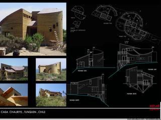 Casa Chauriye, Yunquen, Chile de MONAGHAN DESIGN SAS Rural
