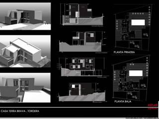 Casa Terra Brava, Tordera-España Casas modernas de MONAGHAN DESIGN SAS Moderno