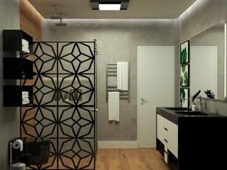 Roberta Sammarone - Arquitetura & Interiores Modern bathroom