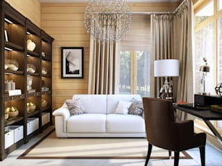 Eclectic style study/office by Design Studio Details Eclectic