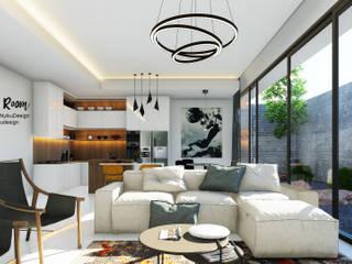 Living Room:modern  oleh Nyiku Interior, Modern