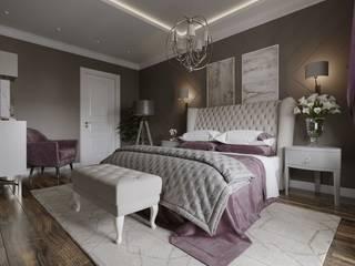 Eclectic style bedroom by Design Studio Details Eclectic