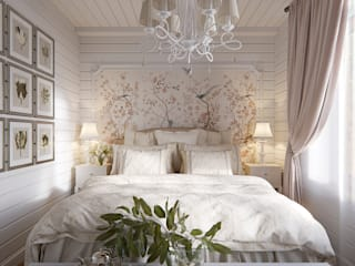 Eclectic style bedroom by Design Studio Details Eclectic