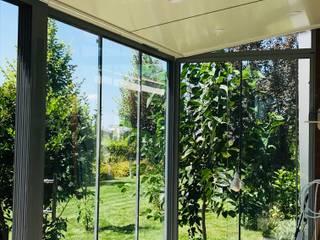 Modern conservatory by Kasva yapı mimarlık Modern