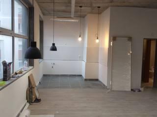 Congrau Engenharia Dapur kecil Keramik Grey