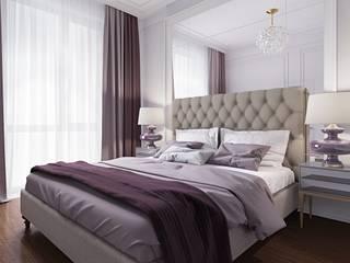 Квартира в Москве ЖК Пресня Сити Спальня в классическом стиле от Arch&Art Классический