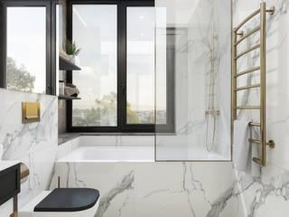 Квартира в Москве ЖК Пресня Сити Ванная в классическом стиле от Arch&Art Классический