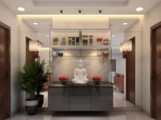 LUXURIOUS & FUNCTIONAL INTERIORS Modern hotels by Think Studios Modern