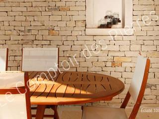 ラスティックスタイルな 壁&床 の LE COMPTOIR DES PIERRES ラスティック