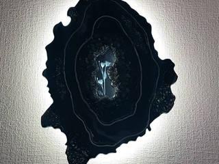 """Световое панно """"Каменный цветок"""". от ООО 'Кристалл Арте' Эклектичный"""