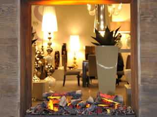 RF Design GmbH Living roomFireplaces & accessories